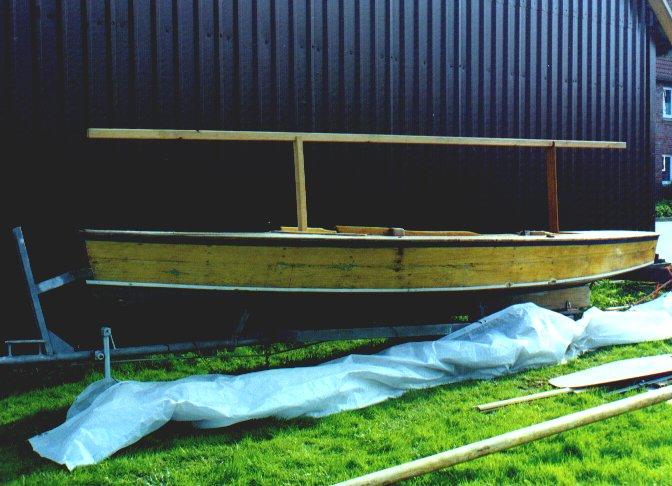 Restaurierung Holzpirat G  a