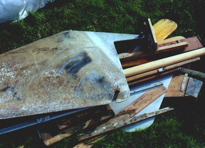Restaurierung Holzpirat G