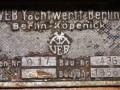 Holzpirat Werftplakette VEB  GO px