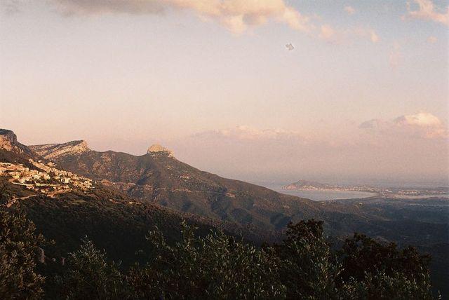 holzpirat org Sardinien  Baunei Blick auf Arbatax