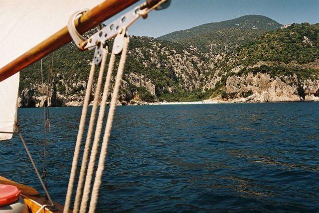 holzpirat org Sardinien  Cala Fuili