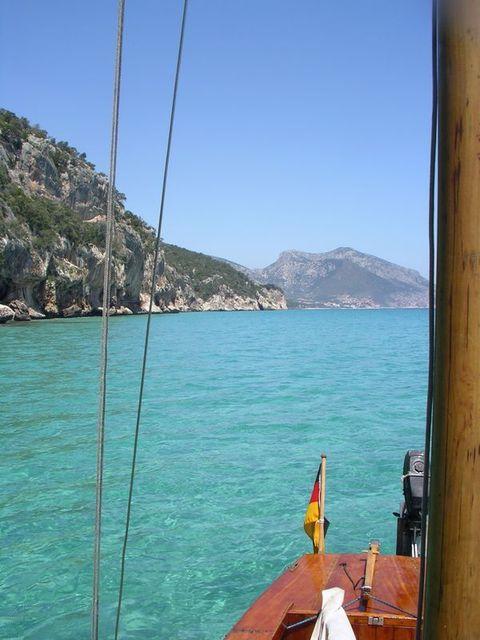 holzpirat org Sardinien  Grotta Blick zurück
