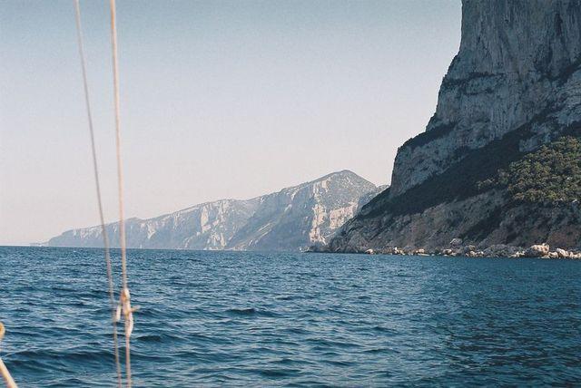 holzpirat org Sardinien Kurs Cala Goloritze Felsnadel