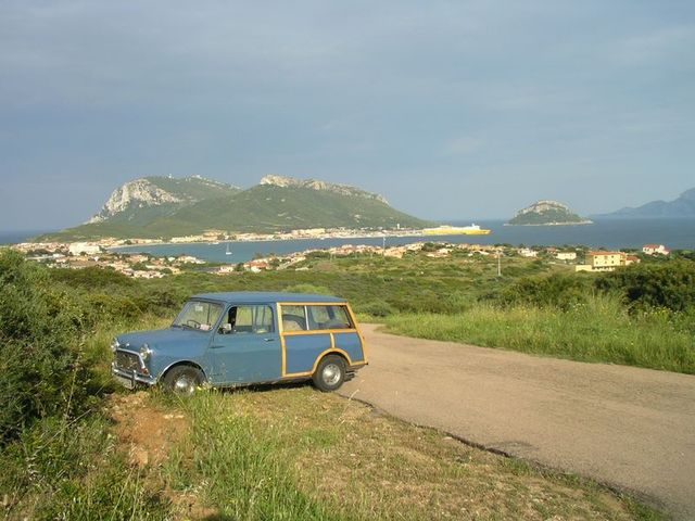 holzpirat org Sardinien  Rückreise Golfo Aranci