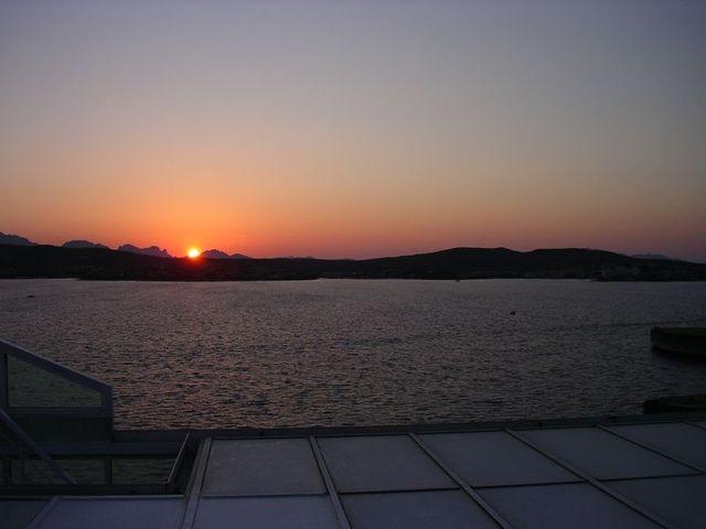 holzpirat org Sardinien  Rückreise Sunset