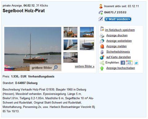holzpirat org screenshot   Verkauf G Bärbel Dieburg er