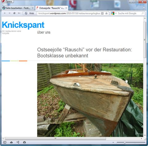 holzpirat org screenshot   Knickspant blog er