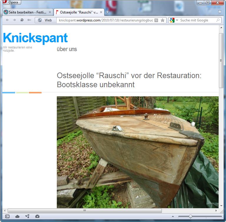 holzpirat org screenshot   Knickspant
