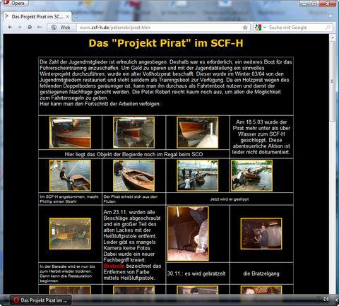 holzpirat org screenshot   peter rob er
