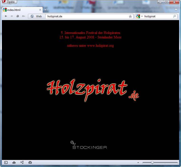 holzpirat org screenshot   holzpirat de