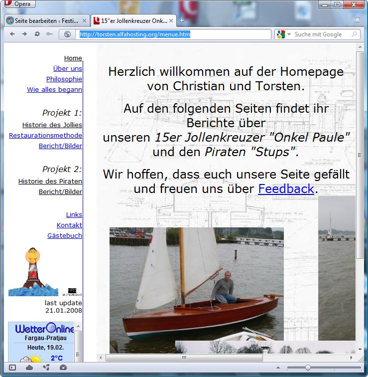 holzpirat org screenshot   ChristanUndTorsten