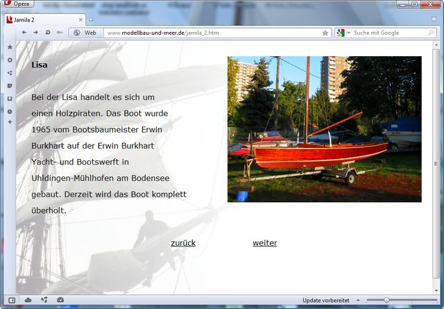 holzpirat org screenshot   Lisa modellbau und meer