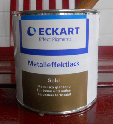 GoldeneGöhl Suter Eckart Metalleffektlack Gold
