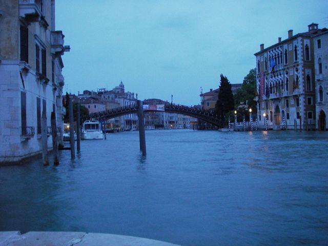 holzpirat org Venedig  Blaue Stunde