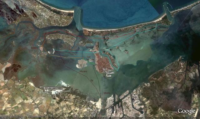 holzpirat org Venedig  Lagune Übersicht