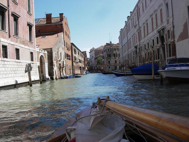 holzpirat org Venedig  Einfahrt