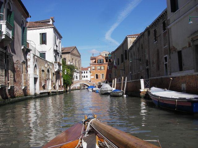 holzpirat org Venedig  Ausfahrt