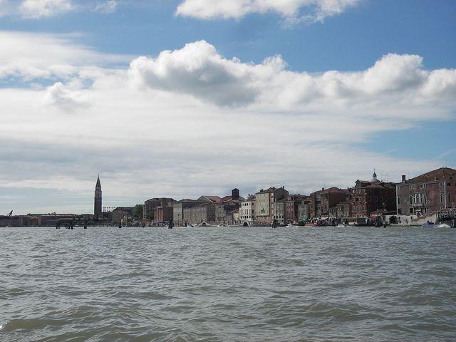 holzpirat org Venedig  Wasserfront von Nordosten