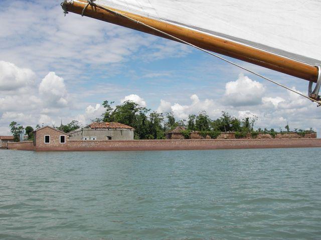 holzpirat org Venedig  Ruineninsel unzugänglich