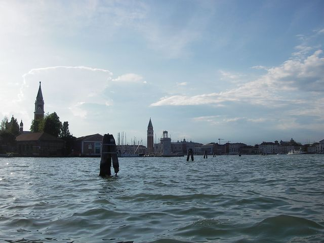 holzpirat org Venedig  Wasserfront von Süden