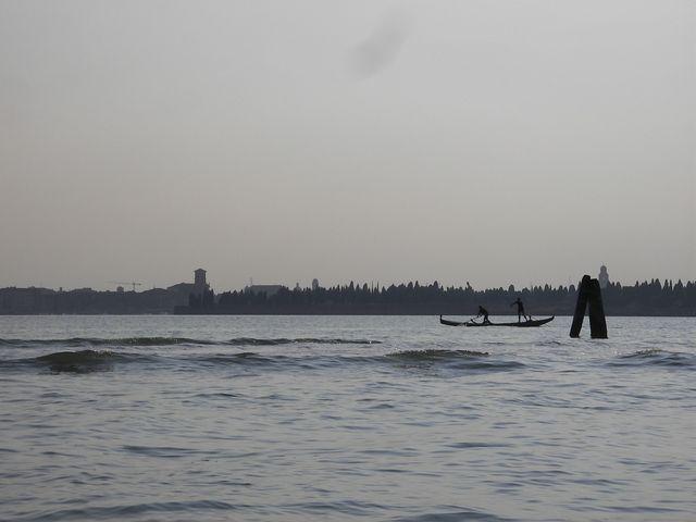 holzpirat org Venedig Training in der Lagune
