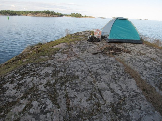 holzpirat BlackPearl Schweden Camping