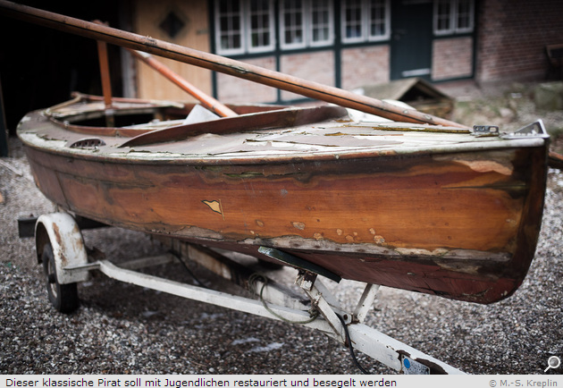 Yacht Artikel  Karsten Kreplin Lübeck Holzpirat