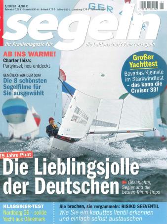 Screenshot Titelblatt SegelnMagazin