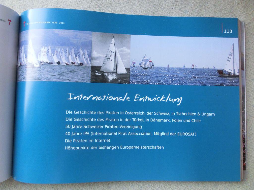 Jahre Pirat Jubiläumsbuch CIMG