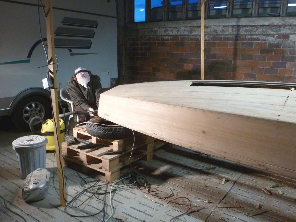 Bild Holzpirat Marina Restaurierung