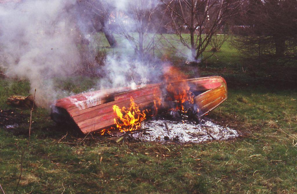 Holzpirat in Flammen Scan
