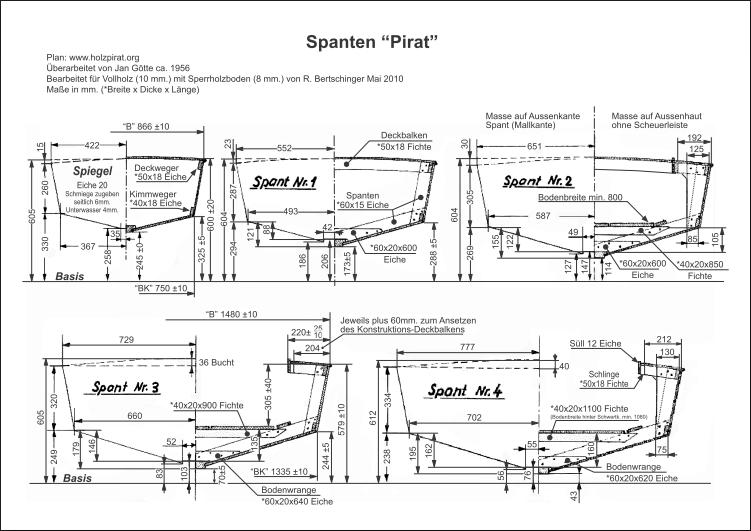 Bauplan-Pirat-SUI 534-Spant 0,1,2,3,4-thumb