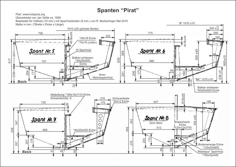 Bauplan-Pirat-SUI 534-Spant 5,6,7,8-thumb