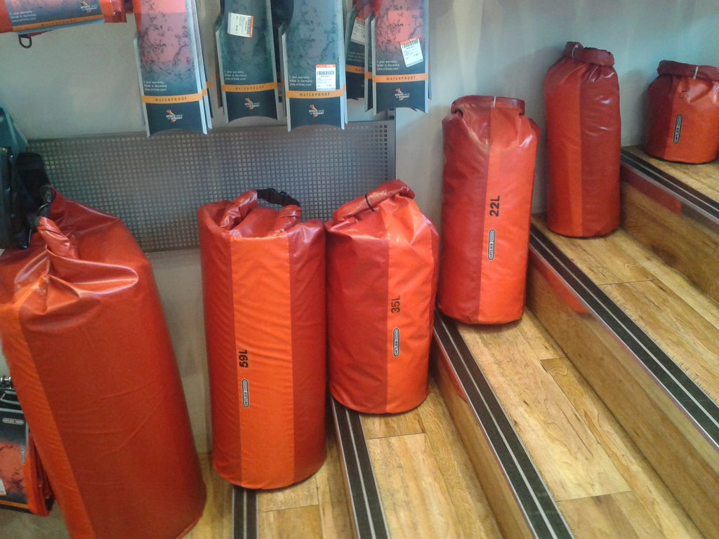 Gepäcksäcke-Auswahl