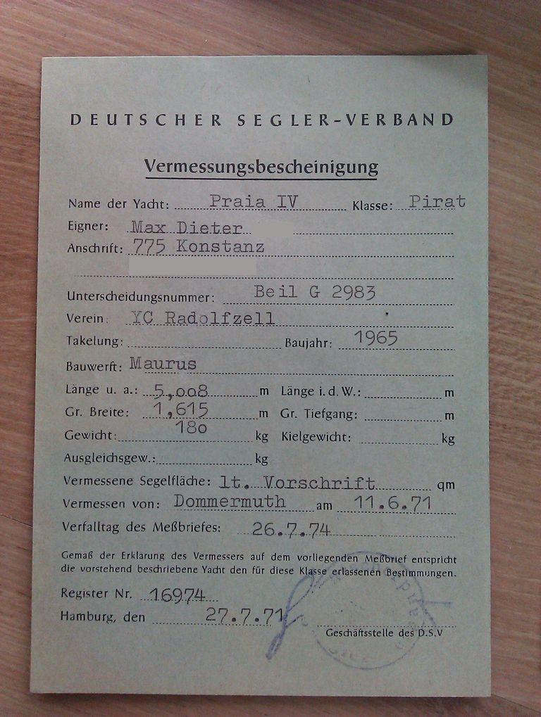 Mario018-Holzpirat-Vermessungsbescheinigung