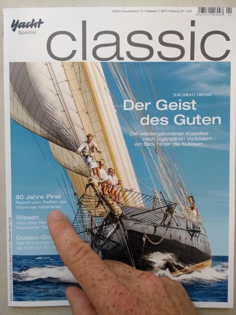 Die Yacht Classic hat uns besucht
