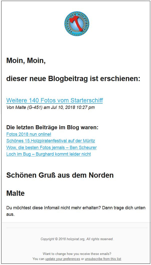 Infoletter MUSTER