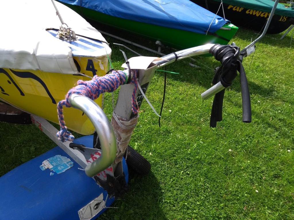 Recycling Rennrad Lenker