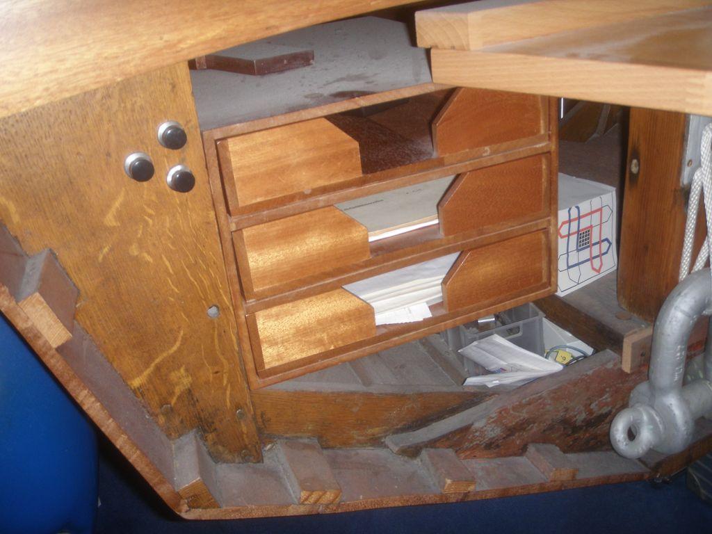 Holzpiraten Schreibtiscn P