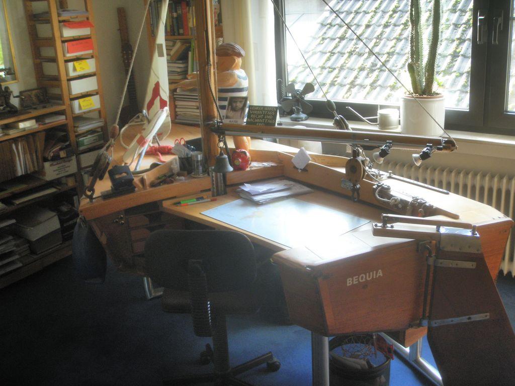 Holzpiraten Schreibtiscn PB