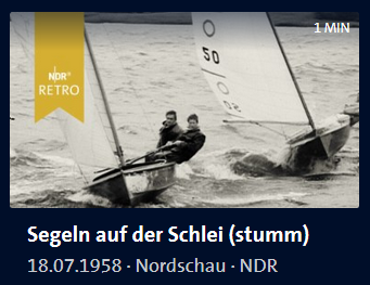 ARD Mediathek Nordschau Segeln auf der Schlei stumm