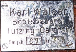 Bootswerft Walser