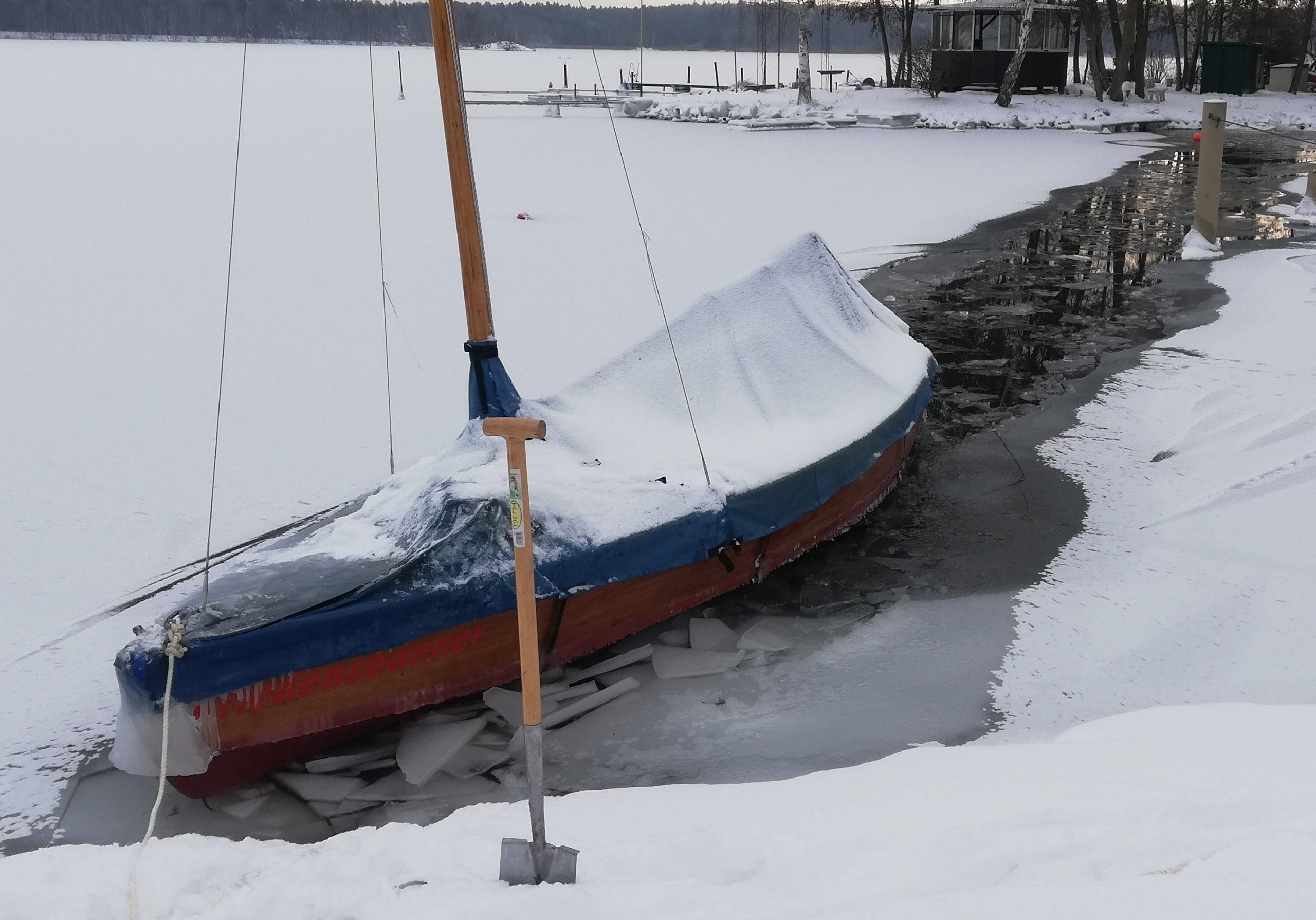 Holzpirat Eisbrecher Micha thread  Eis scaled